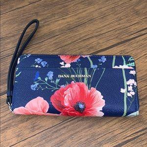 NWOT Dana Buchman Floral Wallet